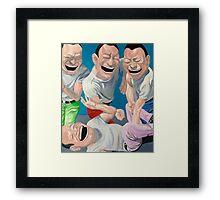 Just Laugh  Framed Print