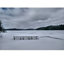 Picnic At Lake Opeongo, Ontario Canada Photographic Print