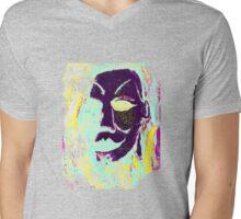 Michael Colorful Mens V-Neck T-Shirt