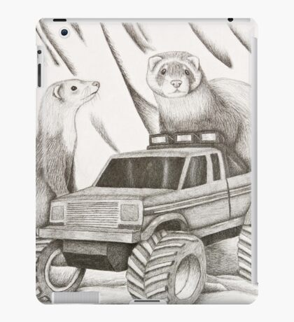 Ferret Still Life iPad Case/Skin
