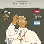 Pope Francis poster by Chris Rees