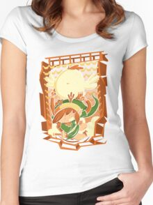 Chicken Wings Women's Fitted Scoop T-Shirt