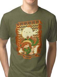Chicken Wings Tri-blend T-Shirt