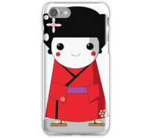 chibi geisha iPhone Case/Skin