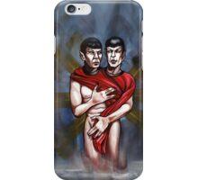 sexy trekkie spock twins iPhone Case/Skin