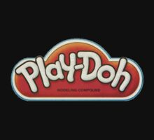 Vintage Play-Doh logo One Piece - Short Sleeve