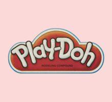Vintage Play-Doh logo Kids Clothes