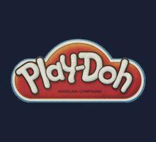 Vintage Play-Doh logo Kids Tee
