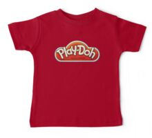 Vintage Play-Doh logo Baby Tee