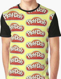 Vintage Play-Doh logo Graphic T-Shirt