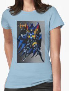 Batman Knightfall Womens Fitted T-Shirt