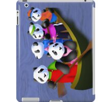 Pandas in Boat iPad Case/Skin