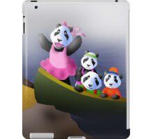 Pandas in Boat iPad Case/Skin