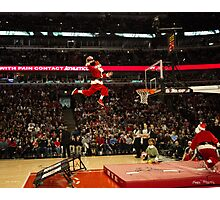Air Santa Photographic Print