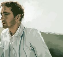 Lee Pace by Iulia Rontu
