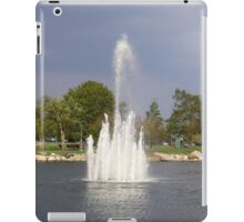 Water Fountain iPad Case/Skin
