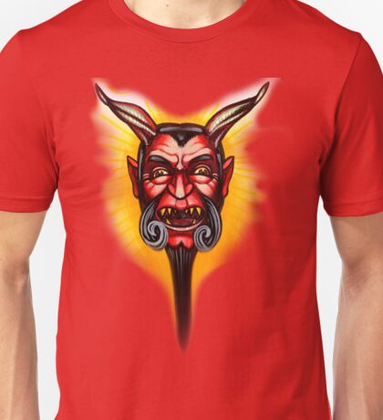 straight to hell with a beard Unisex T-Shirt