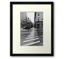 Commercial Approach Framed Print