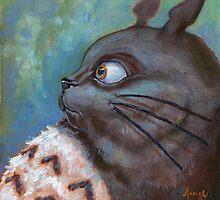 Totoro by Rachel Farley