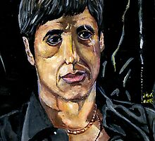 Scarface Tony Montana by Edward Perez