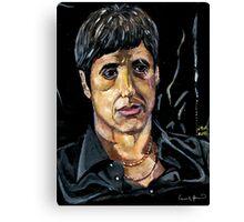 Scarface Tony Montana Canvas Print