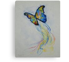 Opal Butterfly Canvas Print
