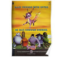 Make Friends With Spyro Poster