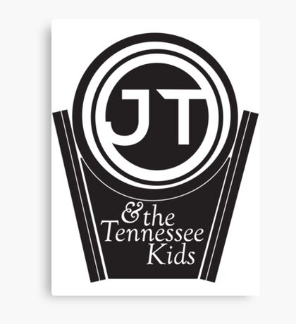 JT & the Tennessee Kids Canvas Print