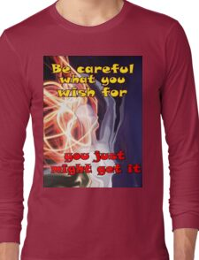 Fire woman Long Sleeve T-Shirt