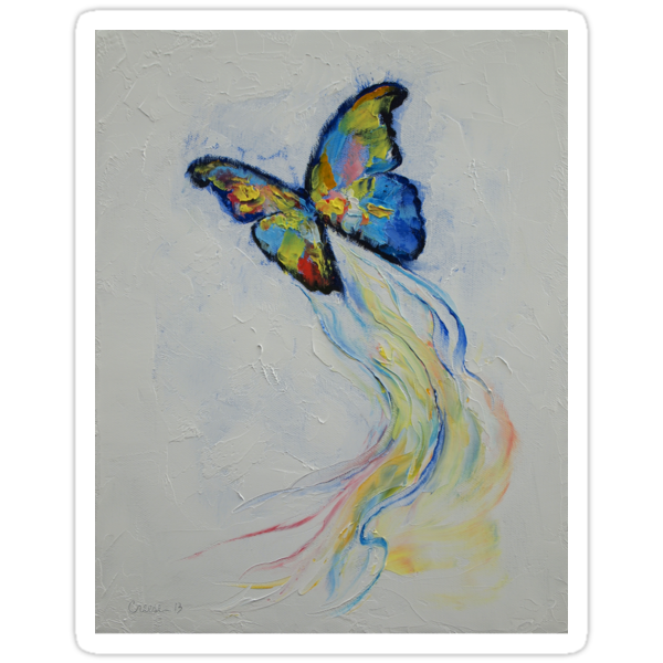 Opal Butterfly by Michael Creese