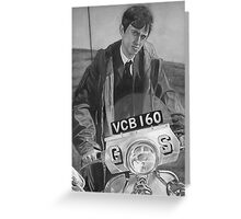 Mod & scooter  Greeting Card