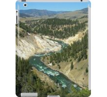 Yellowstone River iPad Case/Skin