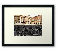 The Vatican Framed Print