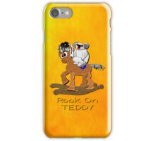 Rock on Teddy iPhone case iPhone Case/Skin