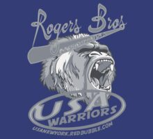 usa warriors gorilla by rogers bros by usanewyork