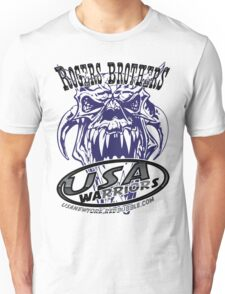 usa warriors monster by rogers bros Unisex T-Shirt