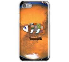 Martian Navy_Airship on Patrol iPhone case iPhone Case/Skin