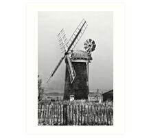 Mill on the Broads Art Print