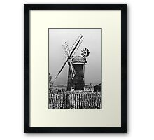 Mill on the Broads Framed Print