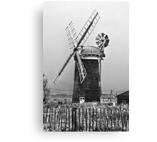 Mill on the Broads Canvas Print