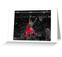 Nate Robinson Greeting Card