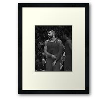 no.5 C Boozer Framed Print
