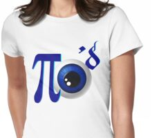 Pi eye'd Womens Fitted T-Shirt