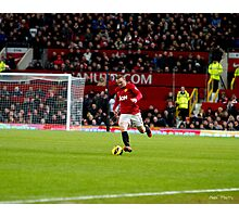 Offense by Wayne Rooney Photographic Print