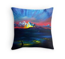 Touching The Soul Throw Pillow