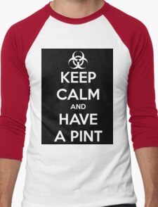 Keep calm and have a Pint Men's Baseball ¾ T-Shirt