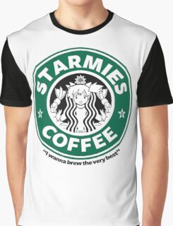 Starmies Coffee Graphic T-Shirt