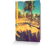 Sunny day. Greeting Card