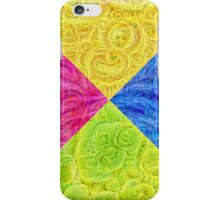 #DeepDream Color Circle Visual Areas 6x6K v1448932478 iPhone Case/Skin