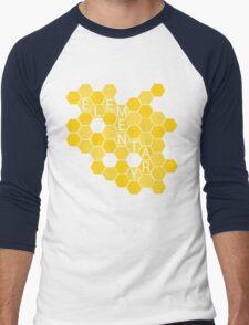A Study in Honeycomb: Elementary Men's Baseball ¾ T-Shirt
